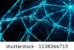 3d render abstract background.... | Shutterstock . vector #1138366715