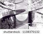 distressed background in black... | Shutterstock .eps vector #1138370132