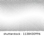 abstract halftone wave dotted... | Shutterstock .eps vector #1138430996