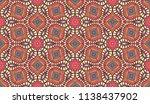 vector seamless textile fabric... | Shutterstock .eps vector #1138437902