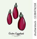 hand drawn vector illustration... | Shutterstock .eps vector #1138476218