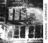 black and white grunge stripe... | Shutterstock .eps vector #1138491635