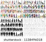 people go  crowd  group ... | Shutterstock .eps vector #1138496018