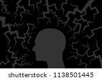 external danger and threat... | Shutterstock .eps vector #1138501445