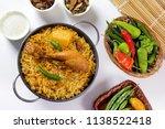 traditional indian chicken...   Shutterstock . vector #1138522418