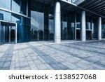 a marble floor platform in... | Shutterstock . vector #1138527068