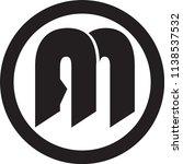 an letter vector logo | Shutterstock .eps vector #1138537532