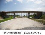 bridge construction in progress | Shutterstock . vector #1138569752
