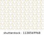 geometric line grid vector... | Shutterstock .eps vector #1138569968
