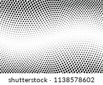 abstract halftone wave dotted... | Shutterstock .eps vector #1138578602
