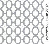 seamless geometric ornamental... | Shutterstock .eps vector #1138579166