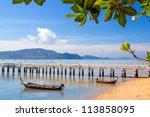 Sea Port Walk Way On Phuket...