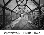 abandoned passage over the road | Shutterstock . vector #1138581635