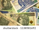 polish currency is zloty | Shutterstock . vector #1138581692