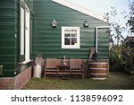 view of traditional houses at... | Shutterstock . vector #1138596092