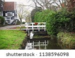 view of traditional houses at... | Shutterstock . vector #1138596098