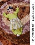male kid post for portrait... | Shutterstock . vector #1138621316