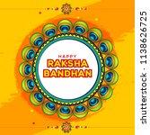 illustration of raksha bandhan... | Shutterstock .eps vector #1138626725