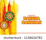 illustration of raksha bandhan... | Shutterstock .eps vector #1138626782