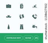 modern  simple vector icon set... | Shutterstock .eps vector #1138627502