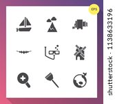 modern  simple vector icon set... | Shutterstock .eps vector #1138633196