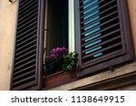 A Bottom Up Shot Of A Window I...