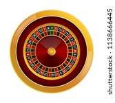 roulette casino mockup.... | Shutterstock .eps vector #1138666445