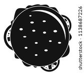 top view cheeseburger icon.... | Shutterstock .eps vector #1138687226