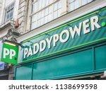 london  july  2018  paddy power ...   Shutterstock . vector #1138699598