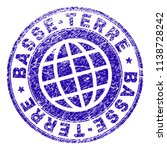 basse terre stamp print with... | Shutterstock .eps vector #1138728242