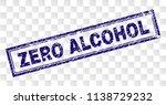 zero alcohol stamp seal imprint ... | Shutterstock .eps vector #1138729232
