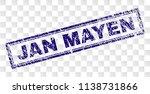 jan mayen stamp seal print with ... | Shutterstock .eps vector #1138731866