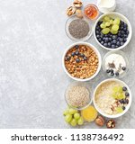 breakfast food table. plant...   Shutterstock . vector #1138736492