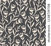 amazing floral seamless pattern.... | Shutterstock .eps vector #1138739708