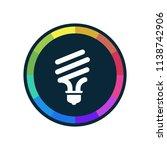fluorescent   app icon | Shutterstock .eps vector #1138742906