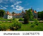 panorama of schoenborn palace... | Shutterstock . vector #1138753775