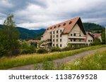 old soviet sanatorium in the... | Shutterstock . vector #1138769528