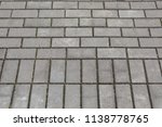 old grunge gray background... | Shutterstock . vector #1138778765