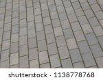 old grunge gray background... | Shutterstock . vector #1138778768