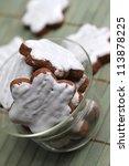 christmas cookies   Shutterstock . vector #113878225