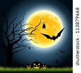Halloween Full Moon Party At...