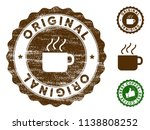 original medallion stamp.... | Shutterstock .eps vector #1138808252