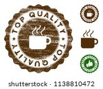 top quality medallion stamp.... | Shutterstock .eps vector #1138810472