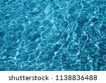photo of a macro bubbling blue... | Shutterstock . vector #1138836488
