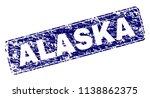 alaska stamp seal print with... | Shutterstock .eps vector #1138862375
