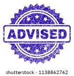 advised stamp imprint with... | Shutterstock .eps vector #1138862762