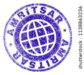 amritsar stamp print with... | Shutterstock .eps vector #1138863236