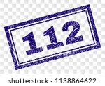 112 stamp seal watermark with... | Shutterstock .eps vector #1138864622