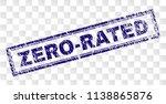 zero rated stamp seal print... | Shutterstock .eps vector #1138865876