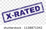 x rated stamp seal print with... | Shutterstock .eps vector #1138871342